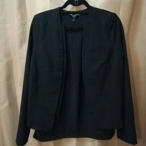 Kenneth cole black open blazer